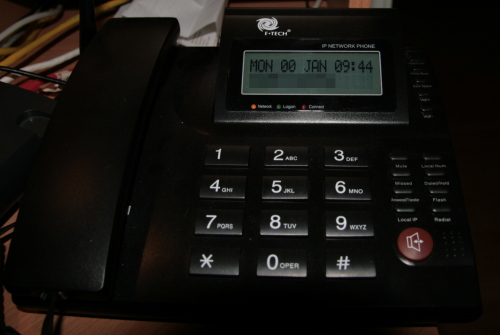 VoIP phone 00 January 2008
